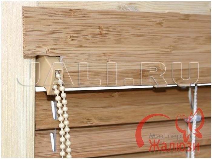 Горизонтальные жалюзи из бамбука и дерева (50 мм)